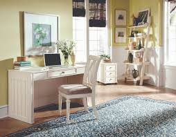 Home Office Furniture Rustic Style Small Home Office Design With Light Green Painted