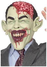 obama halloween mask sales rotten gums zombie mask mad about horror zombie party ideas for