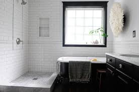 Cool Small Bathroom Ideas by Black And White Small Bathroom Designs Also Great Bathrooms Images