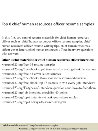 Human Resources Resume Samples by Top 8 Chief Human Resources Officer Resume Samples 1 638 Jpg Cb U003d1431658027