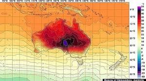 Onda de calor faz Austrália criar mais cores para escala de ...