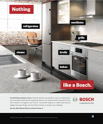 bosch wants you to know it u0027s more than just dishwashers