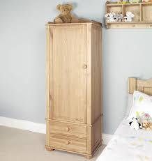 Childrens Oak Bedroom Furniture by Amelie Oak Childrens Single Wardrobe Amelie Oak Children U0027s