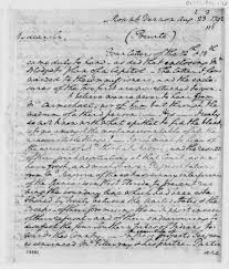 how to write the background of a research paper the thomas jefferson papers at the library of congress george washington to thomas jefferson august 23 1792
