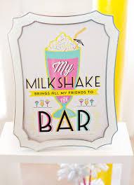retro fun for grown ups a cocktail milkshake bar milkshake bar