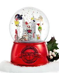 thanksgiving day sale amazon com macy u0027s thanksgiving day parade snow globe 2014 limited