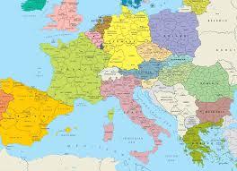 Map Of 1914 Europe by Europe Old Map 1923 U2022 Mapsof Net