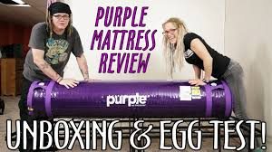 purple bed amazon black friday purple mattress unboxing review egg test what what