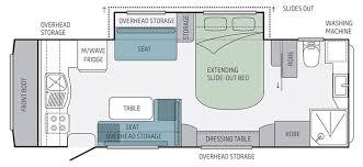 Caravan Floor Plan Layouts Jayco Silverline Caravan 21 65 4 Eastern Caravans