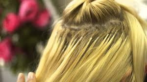 Human Hair Glue In Extensions by How To Remove Pre Bonded Hair Extensions Youtube