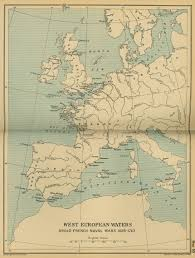 Map Of Western Europe by Of The Anglo French Naval Wars 1689 1763