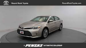 2018 new toyota avalon limited at round rock toyota serving austin