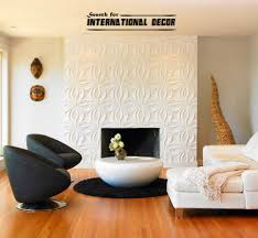 decorative wall panels in the interior latest trends modern