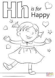 very happy coloring page for pages eson me