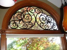 iron art in half round above window iron art pinterest iron