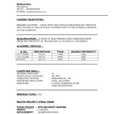Cv For Mechanical Engineer Fresher Mechanical Engineer CV Template     happytom co