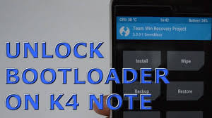 how to unlock bootloader on lenovo k4 note complete guide