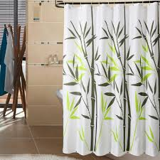 Bed Bath And Beyond Shower Curtain Liner White Fabric Shower Curtains Eyed Catching Motive White Cabinet