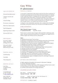 Resume Examples  Information Technology Resume Examples