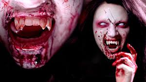 Halloween Vampire Look Vampire Halloween Makeup Tutorial Youtube