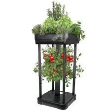the upside down tomato garden hammacher schlemmer