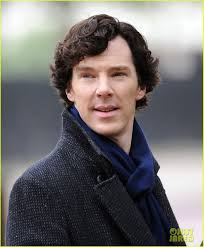 ...to Benedict Cumberbatch! Seriously, it's bad! After watching all the Sherlocks I think I am a little bit in love with him... please tell me I'm not the ... - benedict-cumberbatch-martin-freeman-film-sherlock-season-3-02