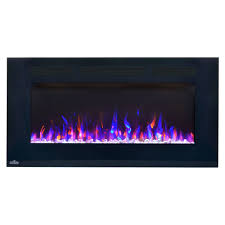 50 Electric Fireplace by Napoleon 50 In Allure Wall Mount Electric Fireplace Nefl50fh