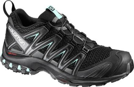 Salomon XA Pro 3D Trail Running Shoe Black/Magnet/Fair Aqua 9.5 US Regular L39326900-9.5