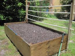 raised box garden gardening ideas