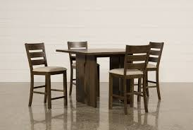Five Piece Dining Room Sets Harper 5 Piece Counter Set Living Spaces