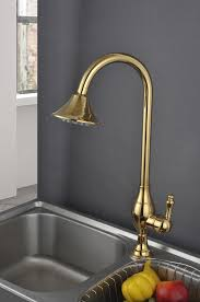 kitchen bar faucets new golden color fairbury single handle pull