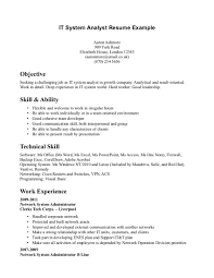 Resume For Entry Level  entry level business analyst resume     Breakupus Fascinating Resume Template Examples Free Sample Resume       objective statements for resume