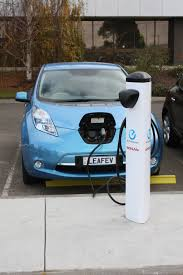 nissan leaf new zealand fast charge units ready for nissan leaf launch eco news