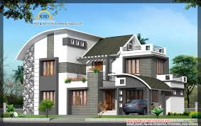 Modern Contemporary Home  Sq Ft Kerala Home Design Modern - Modern contemporary home designs