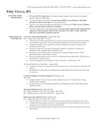 Registered Nurse Resume Examples by Cover Letter Experienced Nurse Resume Examples Rn Resume Examples