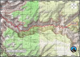 Lake Powell Map Hiking Sundance Trail Dark Canyon Road Trip Ryan
