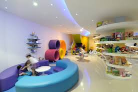 playing area in de la cuna a la luna kids store home design and