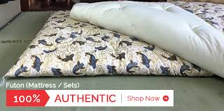 authentic hand crafted futon beds from japan