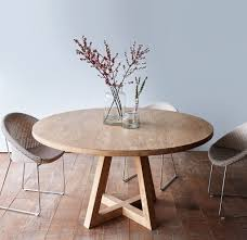 Teak Dining Room Table And Chairs by Nomad Home Cross Legged Teak Dining Table In Natural And Vincent