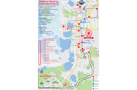 Orlando Florida On Map by Hop On Hop Off Bus Tour Orlando City Sightseeing