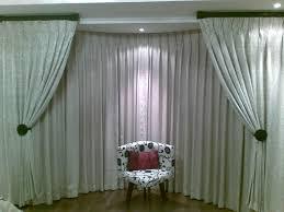 elegant bay window curtain ideas bay window curtain ideas for