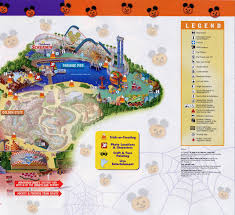 Dca Map Mickey U0027s Halloween Treat Disney U0027s California Adventure October