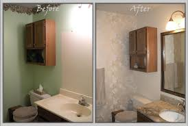 bathroom remodel images before and after before and after