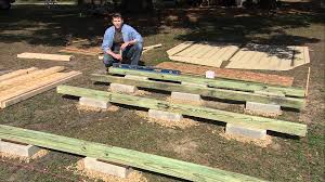Plans For Building A Wood Storage Shed by How To Level A Shed By Heartland Sheds Youtube