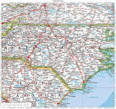 Charlotte Usa Map by Historic Roads Trails Paths Migration Routes Virginia