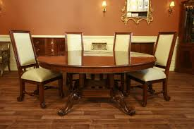 Dining Room Sets With Round Tables Decorative Mahogany Dining Table And Chairs Regency Dining Set