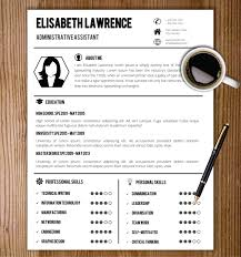 Unique Cv Templates Resume Template With Photo Cover Letter Cv Template Word Us