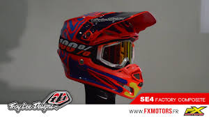 troy lee designs motocross helmet casque motocross troy lee designs se4 composite factory youtube