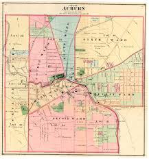 Ny County Map 1875 Cayuga County Ny Atlas Maps
