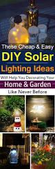 Outdoor Mushroom Lights by 28 Cheap U0026 Easy Diy Solar Light Projects For Home U0026 Garden